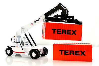 Super Stacker Crane Container Stacker Die-Cast Metal 1:50 Scale Joal
