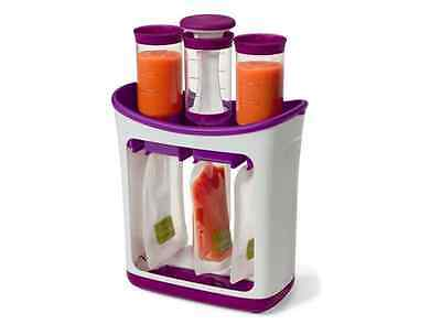 Baby Food Feeding Pouches Puree Maker Infantino Fresh Squeezed With Pouches