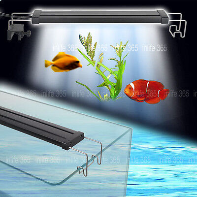 Aquarium Fish Tank Plant Growth Over Head Lamp LED Light Blue White Color ECO