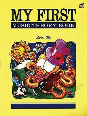 NEW My First Music Theory Book By Lina Ng Paperback Free Shipping