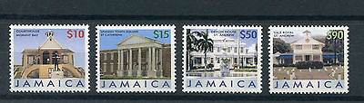 Jamaica 2006 MNH Buildings Definitive Part III 4v Set Courthouse Devon House