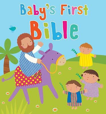 NEW Baby's First Bible By Sophie Piper Board Book Free Shipping