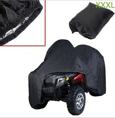 XXXL Universal ATV Quad Bike Cover Waterproof Dustproof Sun Anti-UV Snow 1QQ2