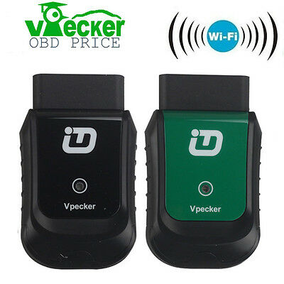 VPECKER Easydiag Wireless OBD2 All Systems Diagnostic Tool Wifi Work For Windows