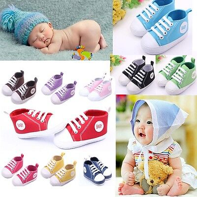 New Infant Baby shoes Toddler Sneakers Boy Girl Soft Sole Crib Shoes 0-12Months