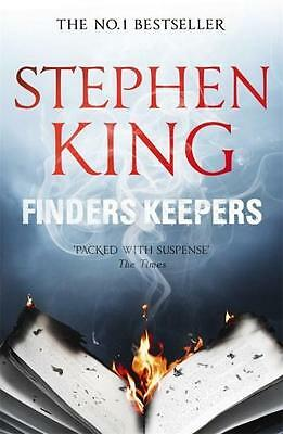 NEW Finders Keepers By Stephen King Paperback Free Shipping