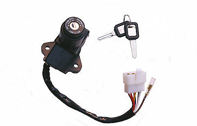 Kawasaki ZXR750H ignition switch (1989-1990) 7 wires, new - fast despatch