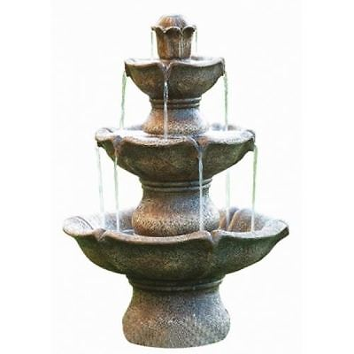 Medium Four Tier Classical Water Feature (Solar Powered)