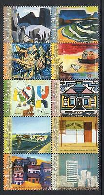 South Africa MNH  2005 Airmail - South African Landscape Paintings