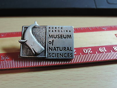 North Carolina Museum of Natural Sciences Lapel Hat Pin 19E