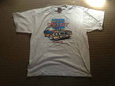 NEW Ford Falcon 351 XY GT Phase III 3 70's Muscle Car T-shirt XW GTHO