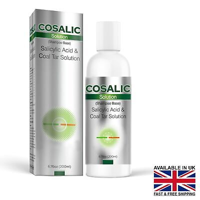 SALICYLIC ACID & COAL TAR SOLUTION 200ML(Expiry - December/2018)