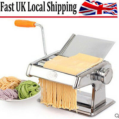 3 In 1 Pasta Lasagne Spaghetti Maker Machine Cutter Tagliatelle Stainless Steel