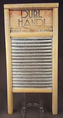 VTG DUBL HANDI Washboard-Columbus Ohio-Wood