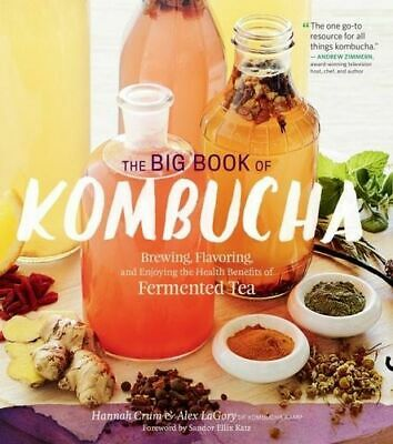 NEW The Big Book of Kombucha By Hannah Crum Paperback Free Shipping
