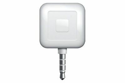 Square Credit Card Reader for Apple and Android White