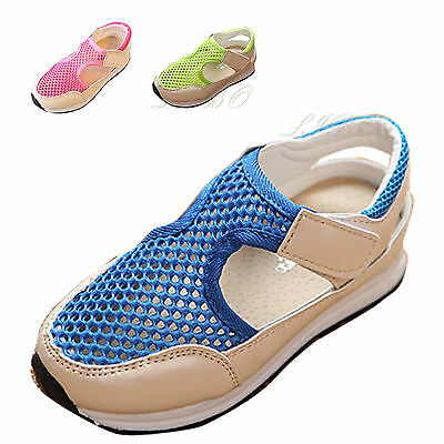 Kids Baby Boys Girls Mesh Running Shoes Toddler Sandals Casual Walking Sneakers