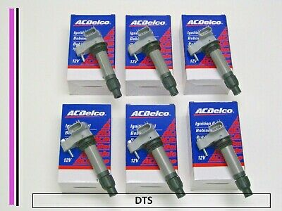 New set of SIX A/C Delco Coils D515C,12590990, 12632479, BSC1555