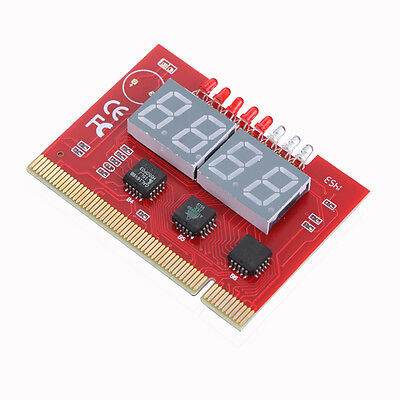 PC 4-digit Code Mainboard Motherboard Diagnostic Analyzer Tester PCI Card New