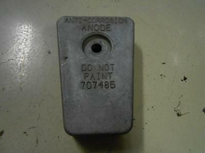 Used Force Gear Housing Zinc Anode 707485