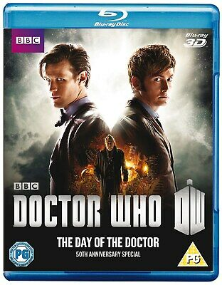 Doctor Who: The Day of the Doctor (3D Edition) [Blu-ray]