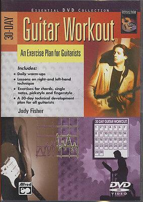 30 Day Guitar Workout DVD Warm-Ups Exercise Technique Technical Tips