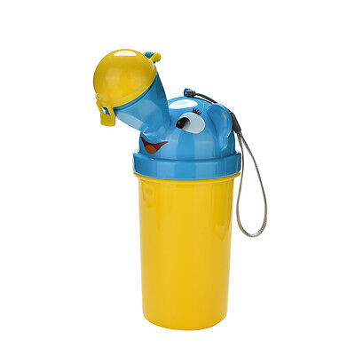 Hot Baby Portable Urinal Travel Car Toilet Kids Vehicular Potty Yellow For Boy