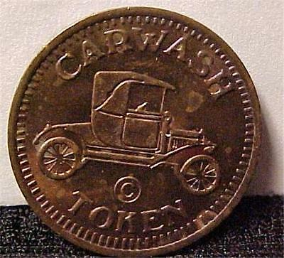 Car Wash Token - No Cash Value -1838C
