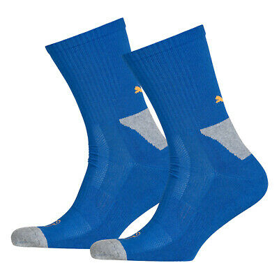 PUMA Sports Socks UK 2.5-5 Cell Crew Performance Running Gym (2 Pair Sport Pack)