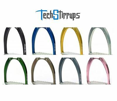 Tech Stirrups Athena Jumping Irons - All Colours