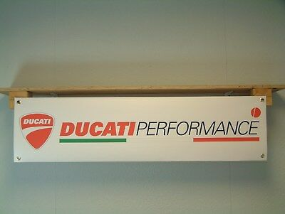 Ducati Performance – motorcycle workshop or garage Banner / sign