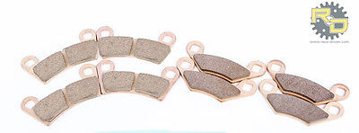 2009-2014 Polaris RZR S 800 EFI Front and Rear Severe Duty Brake Pads