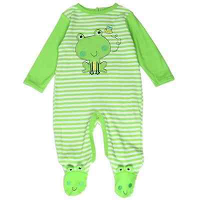 Buster Brown Baby Boys Newborn-9months  Embriodered Footed Sleepsuit
