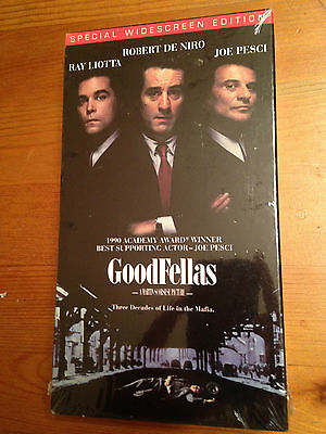 NEW SEALED Goodfellas (VHS, 2000, Widescreen)