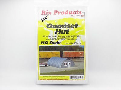 HO Quonset Hut Building Kit - Rix Products #628-0410  vmf121