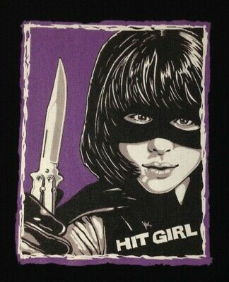 Hit Girl Kick-Ass Chloe Grace Moretz Orig. Art T Shirt New Small Med Lg Xl & 2Xl