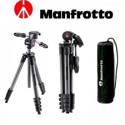 Trípode Manfrotto Compact Advanced - Negro | BargainFotos