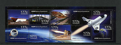 Curacao 2014 MNH XCOR Space Tourist Expeditions 10v M/S Shuttle
