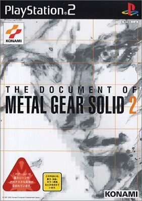 UsedGame PS2 The Document of Metal Gear Solid 2 [Japan Import] FreeShipping