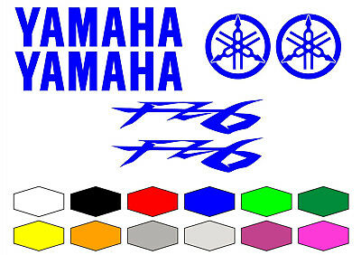 Kit Adesivi Compatibili Yamaha Fz6 6 Stickers