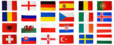 Eurovision Song Contest Flags & Bunting 5x3 3x2 - European Euro Countries Sets