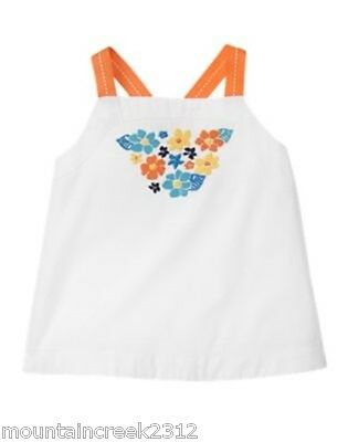 Gymboree Girl's Top Size 2T 3T Tropical Bloom Floral Toddler New