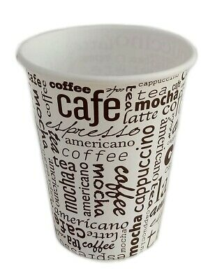 Coffee to go Becher 0,4l, Kaffeebecher. Pappbecher latte caffe,  100-1000St.