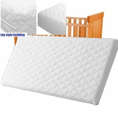 Quilted Mattress Foam Cot Bed Mattress Cot Bed Junior Bed Toddler Foam All Size