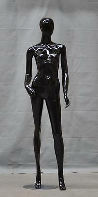 New Quality Female Mannequin Dress Form #RPF-01 GLOSS BLACK