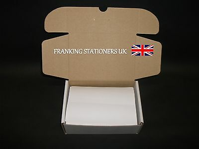 1000 x Frama FP Neopost Pitney Bowes Ascom double franking labels/stickers