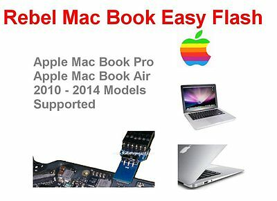Rebel Easy Mac Book Pro / Air Flasher 2010-2014 Model Macbook Air EFI Firmware