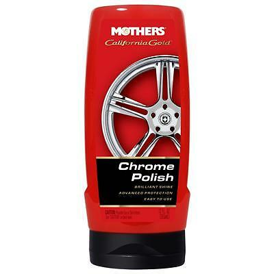 Mothers Chrome Polish Wheel Rims Motorcycle Car Cleaner 12oz.