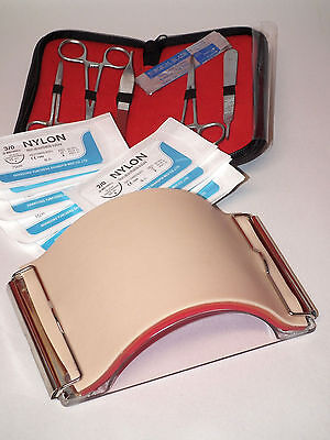 Suture Practice & Training Kit – Latest Quality Professional Suture Pad & Tools