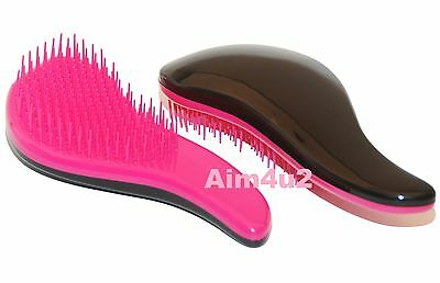 Cat & Dog Long Hair pets Anti Tangle Anti Knots BRUSH grooming Combing